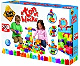 Kids@Work A Ton of Blocks Building Blocks Set, 200Piece