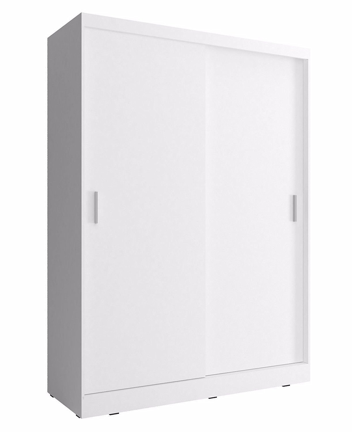 CHECO HOME AND GARDEN 2-DAY PREMIUM SHIPPING AVAILABLE WHITE 130 cm WIDE BRAND NEW SLIDING 2 DOORS WARDROBE CHECO LTD