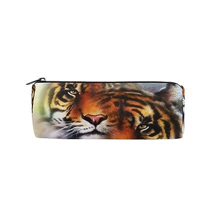 ALAZA Tiger - Estuche para lápices, bolso de papelería ...