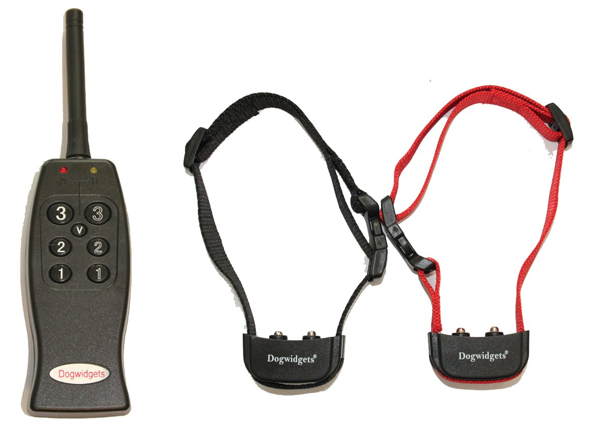 2 Dog Training Collar With Remote Vibration Only E-Collar No Shock Pet Trainer Very Humane No Pain Obedience Collars