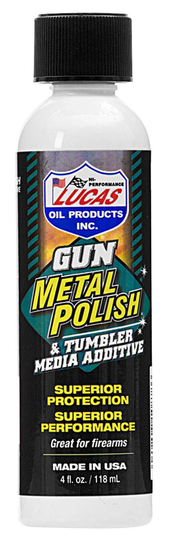 Lucas Oil 10878 Gun Metal Polish (4oz。)、1パック   B076579QM3
