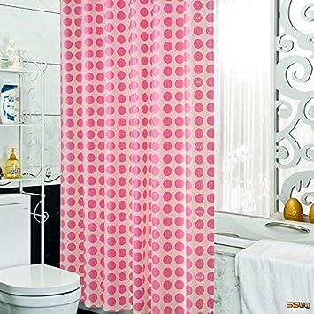 Byle Duschvorhang Tuch Wasserfeste Dicke Warme Badezimmer Vorhang
