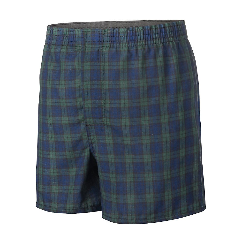 Hanes by Boys' Ultimate Tartan Boxer With Comfort Flex Waistband 3-Pack_Assorted_S