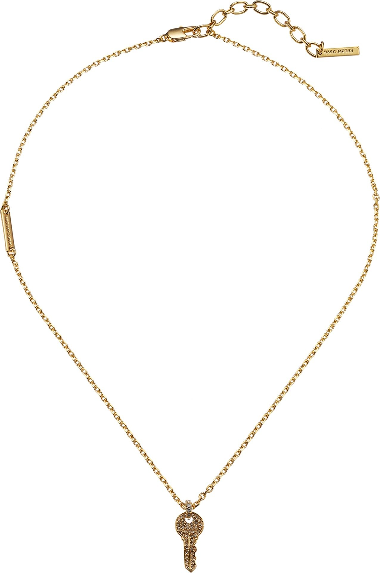 Marc Jacobs Women's Respect Short Key Necklace Gold One Size
