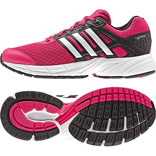 Adidas LIGHTSTER 2 xJ Laufschuh - Kinder - pink/ white/black, Schuhgröße:36