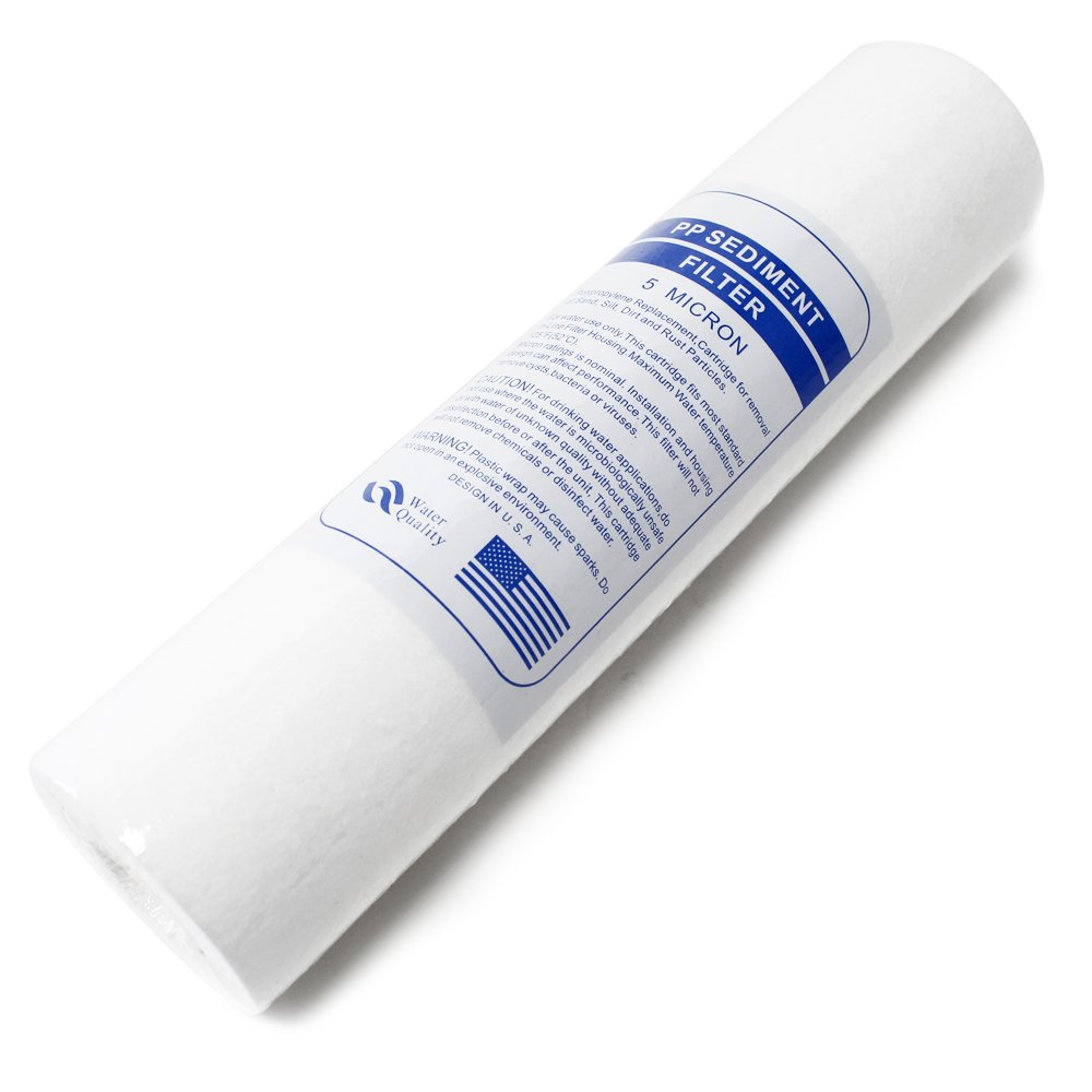Naturewater 20Inch 508mm 5/µ Sediment Filter Insert PP-20A-1 Water Cleaner