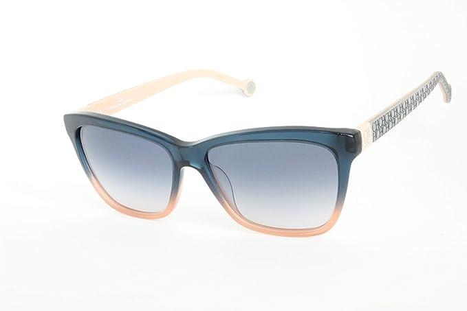 Carolina Herrera SHE7010VA4 Gafas de sol, Azul, 55 para ...