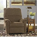 Signature Design by Ashley 1610029 Pranit Collection Recliner, Walnut