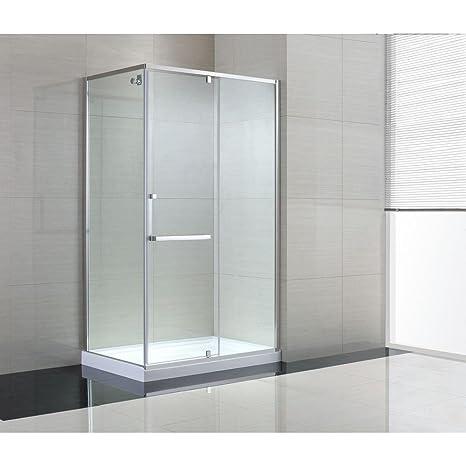 Frameless Corner Glass Shower Doors.Amazon Com Schon Brooklyn 48 In X 79 In Frameless