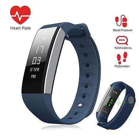 Amazon.com: LePan Reloj Inteligente Bluetooth Presión de ...