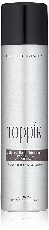 TOPPIK - Spray épaississant - chatain foncé - 145g TOXPZ THTM12