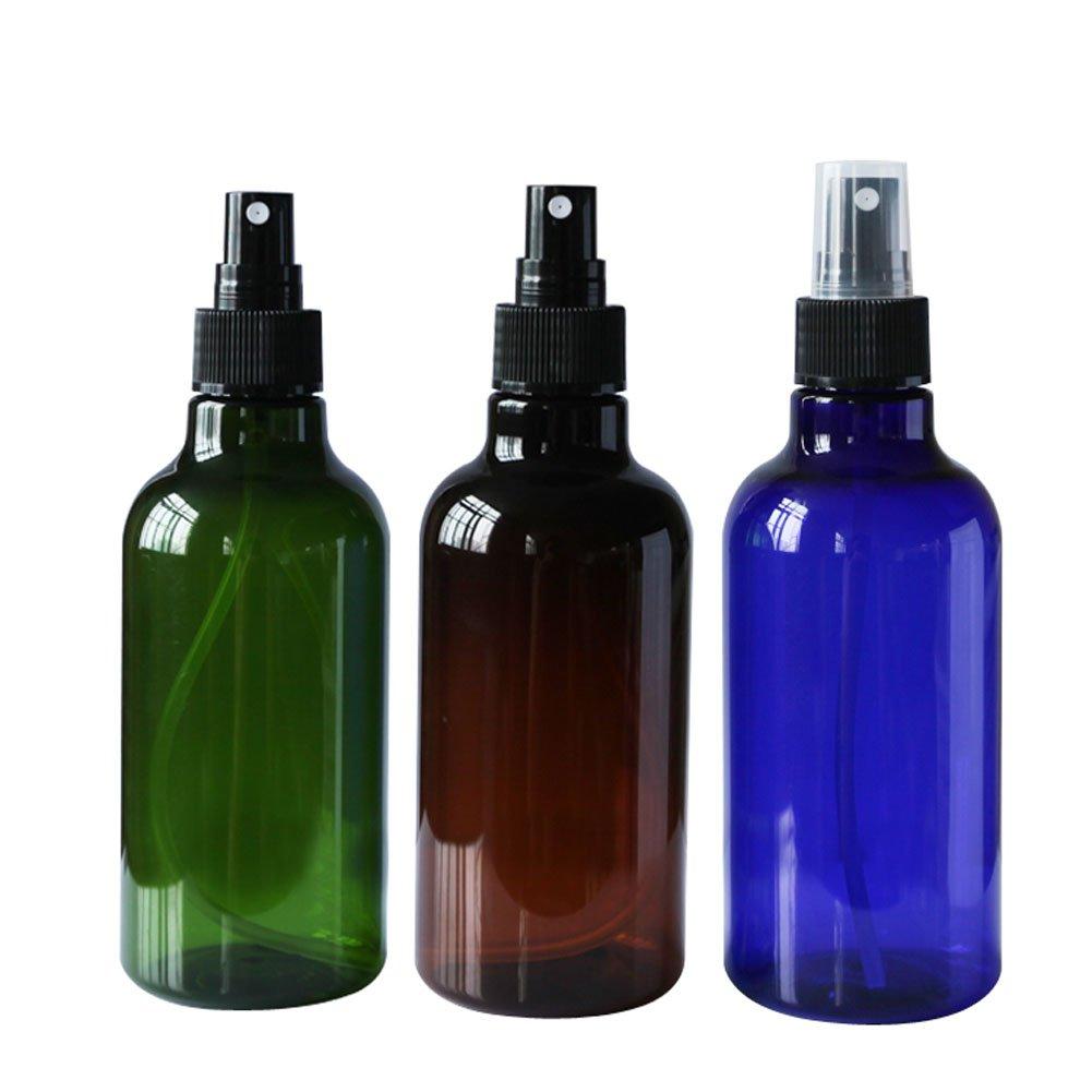 2 piè ces 250 ml 255, 1 gram rechargeables vide Flacon de parfum Spray Plastique bocaux conteneurs avec capuchon Maquillage Cosmé tique Atomiseur Bouteille anti-fuite Portable Accessoires de voyage erioctry