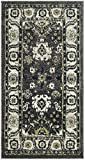 Safavieh Vintage Hamadan Collection VTH214M Dark Grey and Ivory Area Rug (4′ x 6′) For Sale