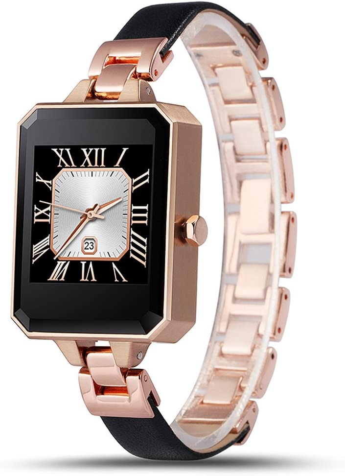 Amazon.com: LEMFO LEM2 Bluetooth Smart Watch Fashion Female ...