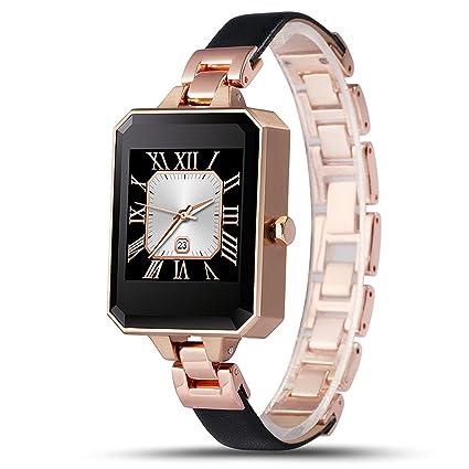 Amazon.com: LEMFO lem2 Bluetooth SmartWatch Moda Mujer Watch ...