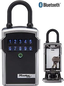 MASTER LOCK Caja de seguridad para llaves con Bluetooth [Bluetooth ...
