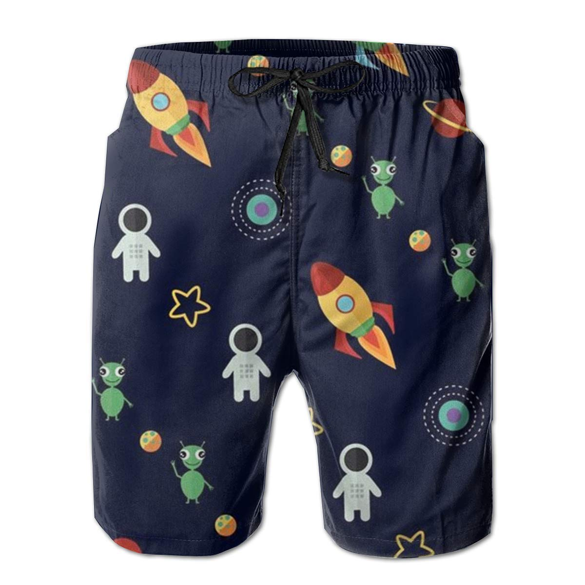 Rocket Novelty Sports Beach Shorts Running Board Shorts M-XXL Men Teens Gift