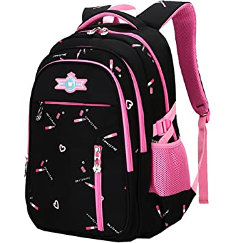 45b684cfe8f7 Primary School Bag Backpack for Girls 7-12 Years Old