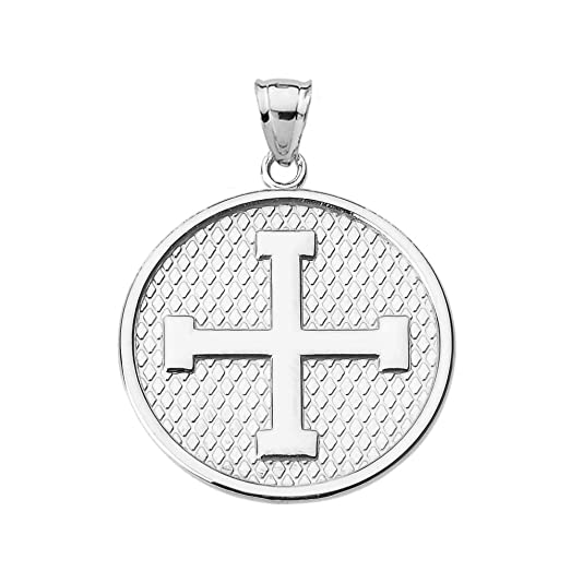 Amazon engravable greek cross pendant necklace in sterling engravable greek cross pendant necklace in sterling silver mozeypictures Choice Image