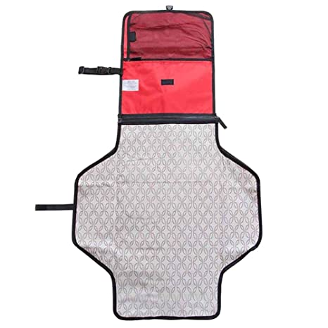 LUCKME Cambiador de pañales Plegable, Impermeable portátil ...