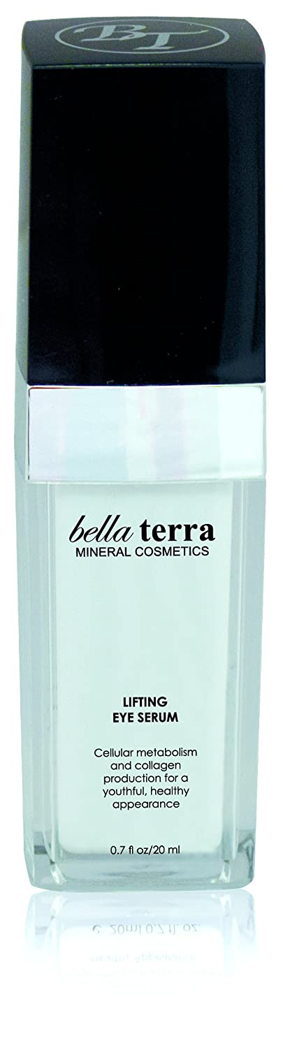 Bella Terra Lifting Eye Serum | Anti-aging Advanced Skincare | Reduce Wrinkles and Puffy Eyes | Promotes Collagen Renewal for Younger Skin (1.35 fl.oz /40ml)