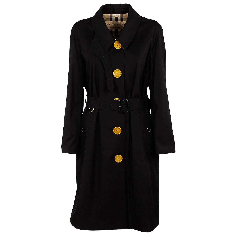 4d4910657a9d4 BURBERRY Trench Coat Femme Nero 42 EU  Amazon.fr  Vêtements et accessoires