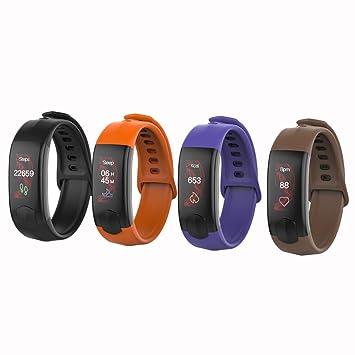 Smart Fitness Tracker Relojes para Android iOS, VNEIRW BT 4.0 0,71 pulgadas OLED