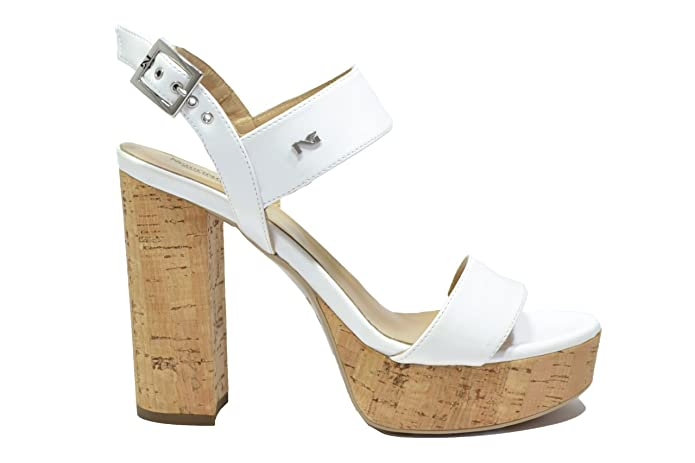NERO GIARDINI Sandali scarpe donna bianco 7860 mod. P717860DE