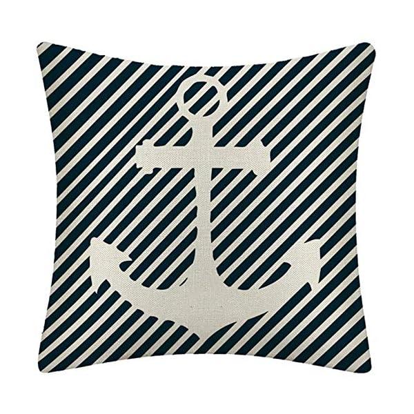 61tnX1uomwL WMWZ Bunt Ozean-Serie Segelboot Anchor Design Kissen Leinen Baumwolle Überwurf Case Soft Bettwäsche Kissenbezug Für Sofa…