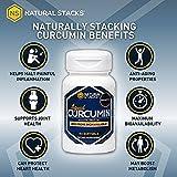 Natural Stacks Curcumin with Coconut Oil - Liquid