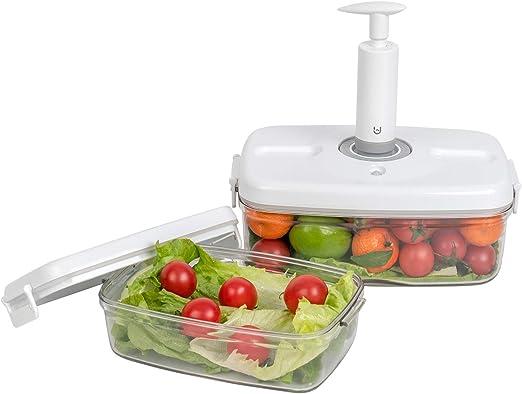 foodsaver vacuum seal bpa free quick marinator and food container