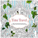 Time travel Coloring Books antistress Art Drawing Painting Secret Garden colouring book with 24 color pencil For Adult Children Girls