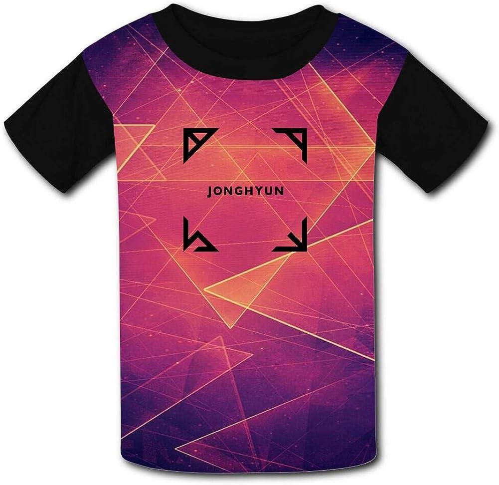 Black Raglan T-Shirts Short Sleeve Jongh yun Breath Tee for Kids Boys Girls