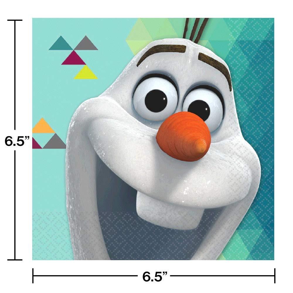 Amazon.com: Disney Olaf platos de papel para fiesta y ...