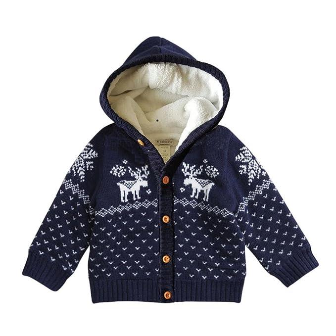 Amazon.com: digood Baby Boys Girls chaqueta de punto Suéter ...