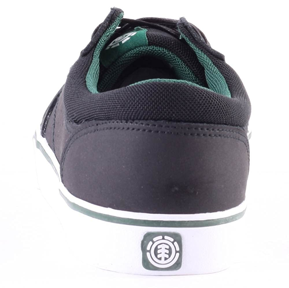 Element Wasso Mens Leather /& Suede Trainers Black 11 US