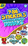 Eureka Stickerbook - Motivational Doodles Learning Playground Sticker Book