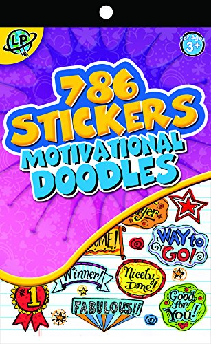 Eureka Back to School Motivational Stickers For Teachers and Kids, 786 pcs