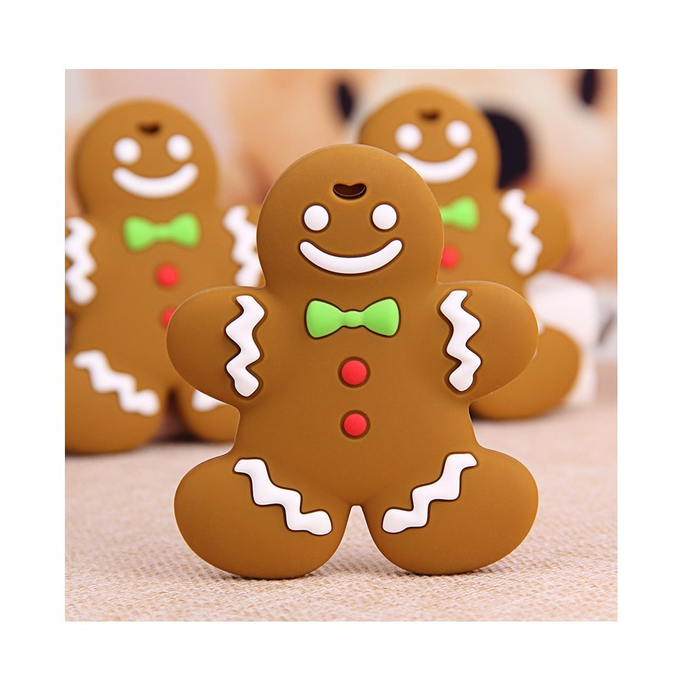 Amazon.com: Primo Passi Silicone Teether Ginger Cookie: Toys ...