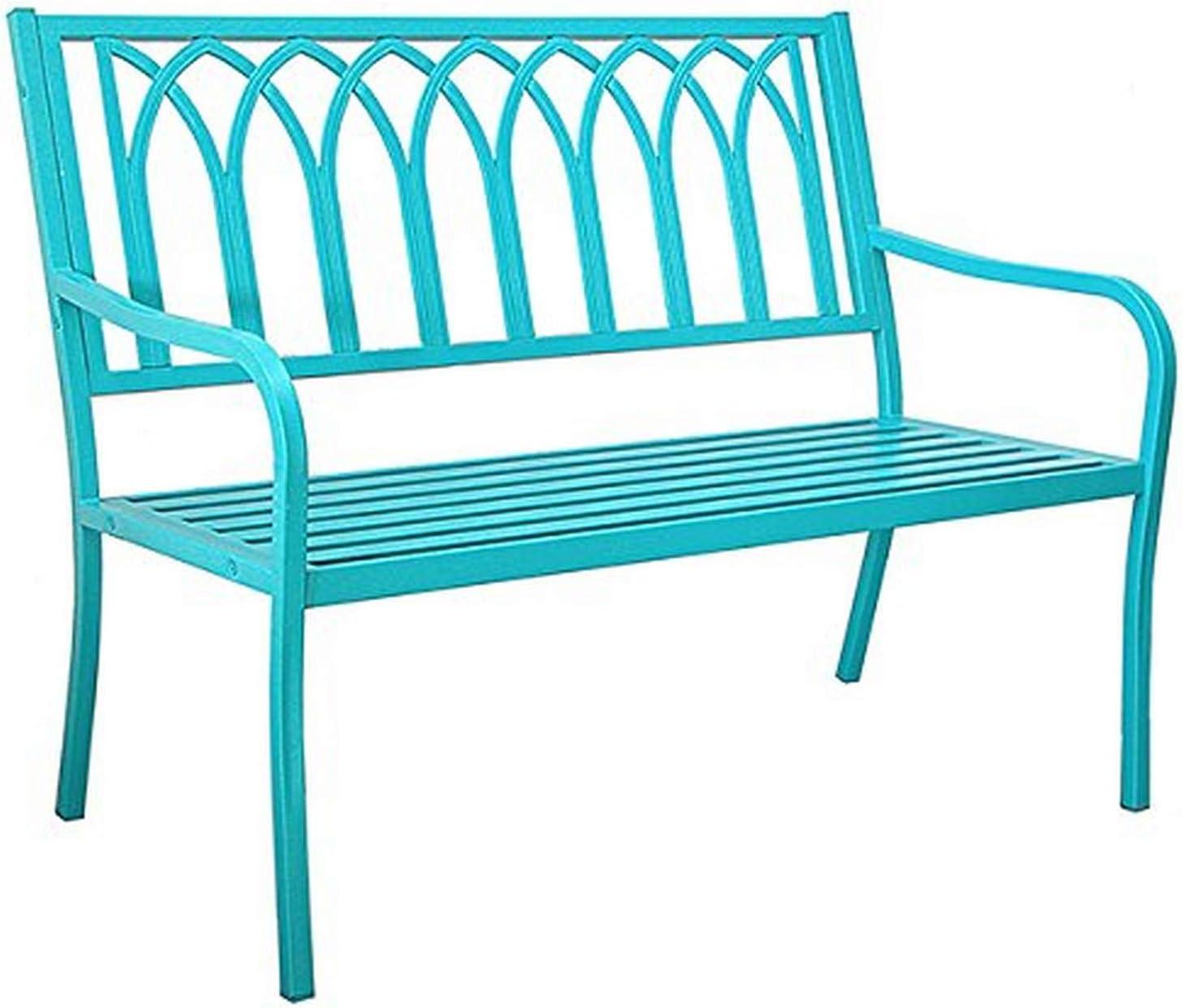 Innova Hearth and Home Lakeside Metal Steel Bench