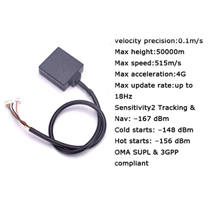Amazon com: YoungRC Mini M8N GPS Module with Compass for