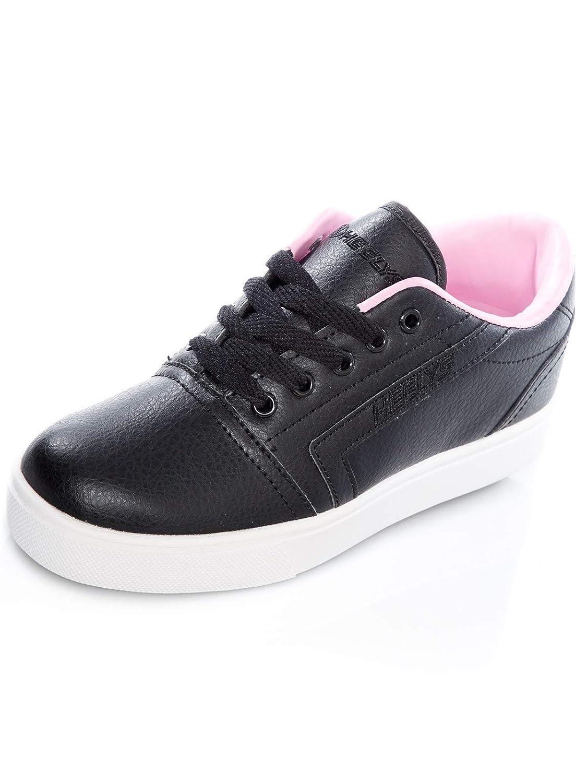 [ヒーリーズ] Gr8 Pro Ankle-High Nylon Fashion Sneaker B07BPLHN22 1 M US Little Kid|Black/Light Pink Black/Light Pink 1 M US Little Kid