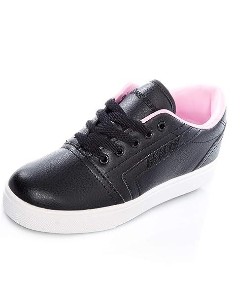 Zapatillas con una Rueda para niña Heelys GR8 Pro Negro-Light Rosado: Amazon.es: Zapatos y complementos