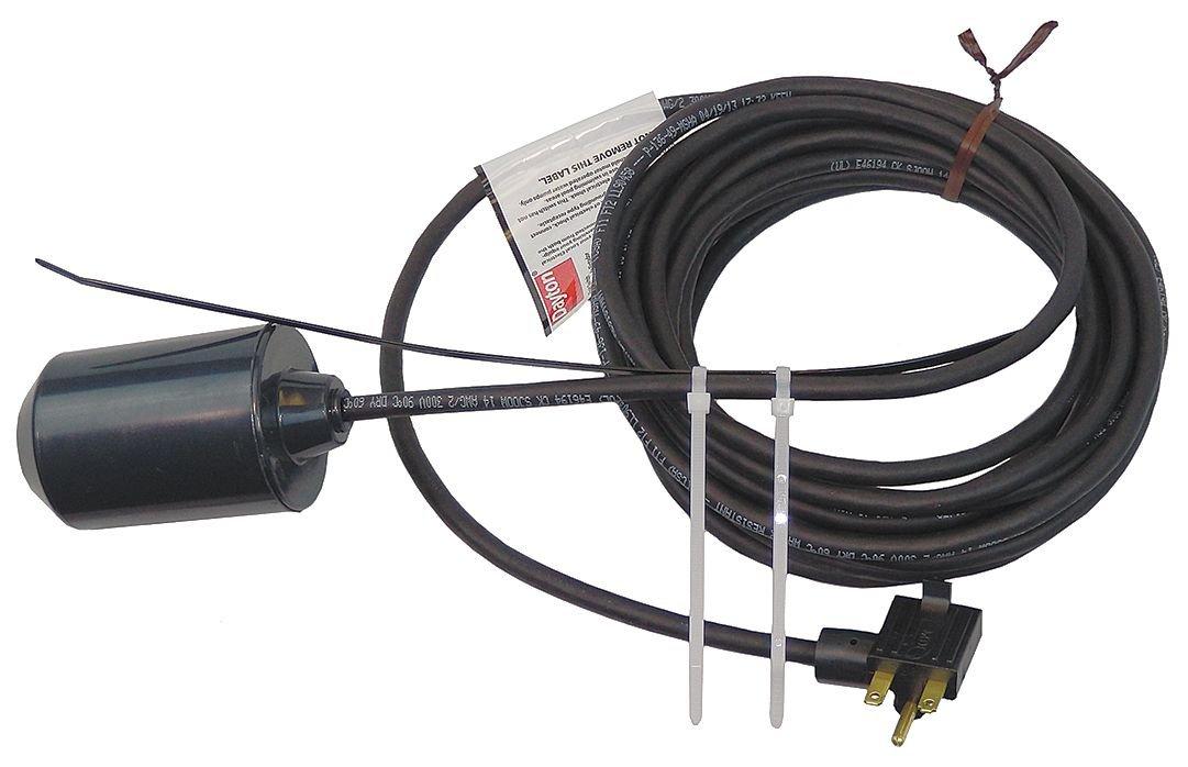 Dayton 6pnv0 Interruptor de flotador, mecánico, 230 VAC, 20 m: Amazon.es: Amazon.es