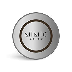 Mimic Color Root Cover Up for Hair Grey Hair Concealer Hair Root Color Touch Up Temporary Hair Color Covers Gray (COMPACT ONLY, DARK BROWN)