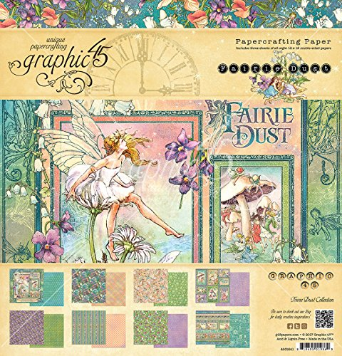 Graphic 45 Fairie Dust 12x12 Collection Pack