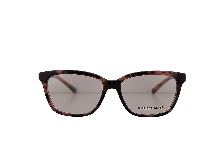 bf02014736e Amazon.com  Michael Kors MK8018 Sabina IV Eyeglasses 52-15-135 Pink  Tortoise Rose Gold w Demo Clear Lens 3108 MK 8018  Clothing