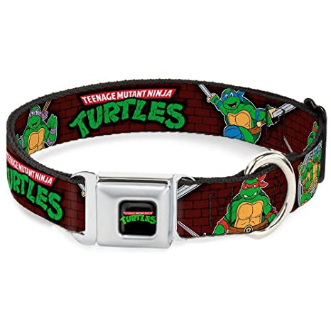 Amazon.com : Buckle-Down Seatbelt Buckle Dog Collar ...