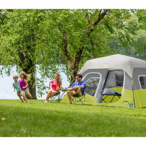CORE Instant Cabin Tent, 6 Person, 11' x 9' by CORE (Image #4)