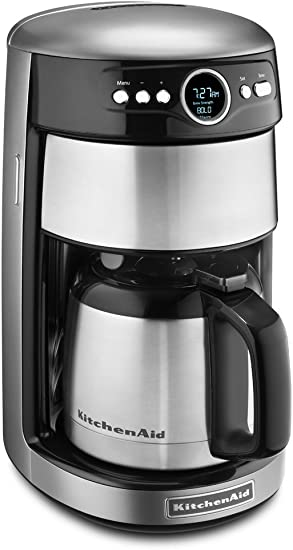 KitchenAid KCM1203CU 12-Cup Thermal Carafe Coffee Maker - Contour ...